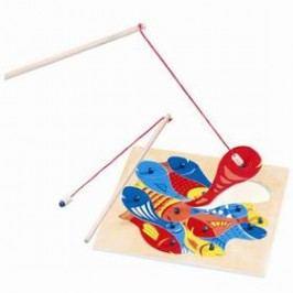 Bino Rybičky s udičkou - puzzle Hračky ze dřeva