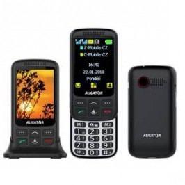 Aligator VS 900 Senior Dual SIM (AVS900BS) černý/stříbrný