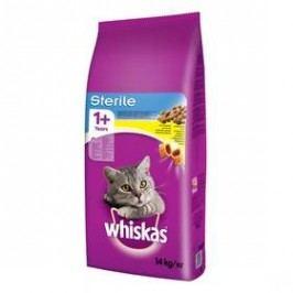 Whiskas Sterile s kuřecím masem 14 kg