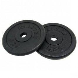 Závaží (30mm) Master 5 kg kov (pár)