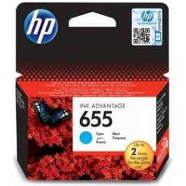 HP No. 655, 600 stran - originální (CZ110AE) modrá