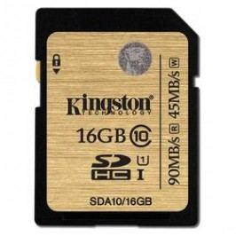 Kingston SDHC 16GB UHS-I U1 (90R/45W) (SDA10/16GB)