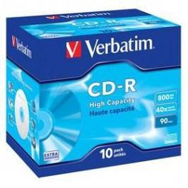 Verbatim Extra Protection CD-R DL 800MB/90min, 40x, jewel box, 10ks (43428)