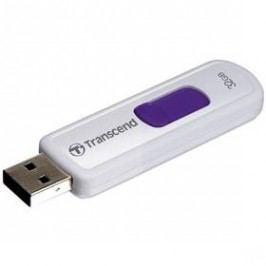Transcend JetFlash 530 32GB (TS32GJF530) bílý/fialový