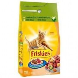 FRISKIES Cat s drůbežím 4 kg