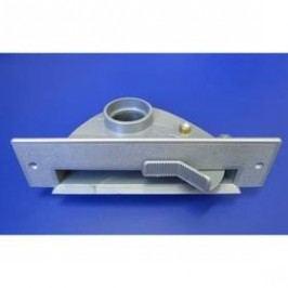 Podlahový vstup VAC PAN - stříbrný