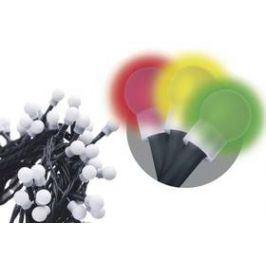 EMOS 200 LED, 20m, řetěz (kulička), vícebarevná, časovač, i venkovní použití (1534091025)