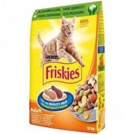 FRISKIES Cat kuřecí a zelenina 10 kg