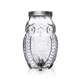 Láhev sklo+kohoutek SOVA 5,2 l  ORION