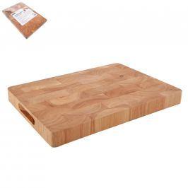 Prkénko gumovníkové dřevo 35x25x3,3 cm ORION