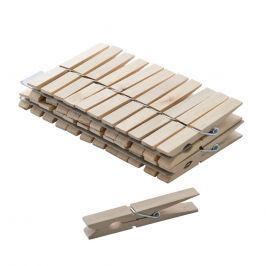 Kolíčky prádelní dřevo 24ks ORION