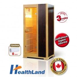 HealthLand Infrasauna ECONOMICAL 2001 Carbon