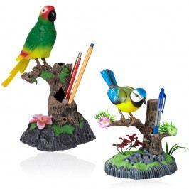 Kids World Mluvící papoušek nebo sýkorka 2v1 Kreativní a výtvarné hračky