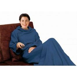 HomeLife Televizní pytel s prodlouženými rukávy 180 x 122 cm modrý