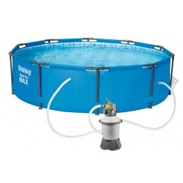 Bestway 56406PFS Bazén Steel Pro Frame 3,05 x 0,76 m s pískovou filtrací STANDARD 2006 l/hod
