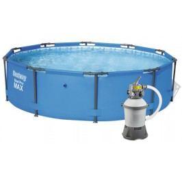 Bestway 15511PFS Bazén Steel Pro Frame 3,66 x 1 m s pískovou filtrací STANDARD 2006 l/hod