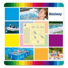 Bestway 62091 Bazénová sada voděodolných záplat 10 ks