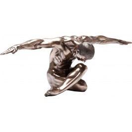Dekorativní figurka Nude Man Bow 137cm
