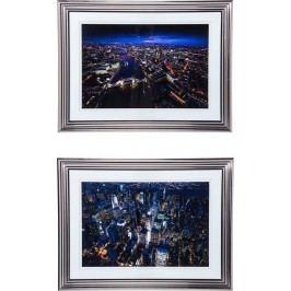 Obraz s rámem City Nights 92x122cm - více variant