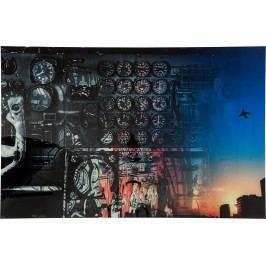 Obraz na skle The Cockpit by Mayk Azzato  100x150c