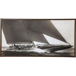 Obraz s rámem Sailing 84x164cm