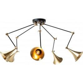 Lustr Trumpet Brass Spider 5 světel