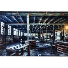 Obraz na skle Factory 100x150cm