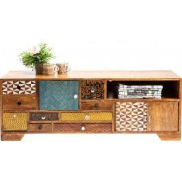 Televizní stolek Soleil trojdvéřový s 9 zásuvkami