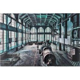 Obraz na skle Factory Hall 100x150cm