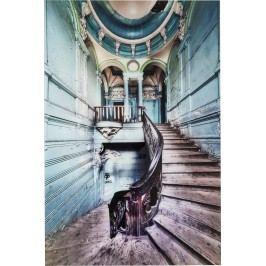 Obraz na skle Old Staircase 120x80cm