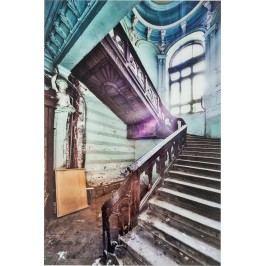 Obraz na skle Old Staircase Corner 120x80cm