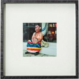 Obraz s rámem Cuba Life 40x40cm