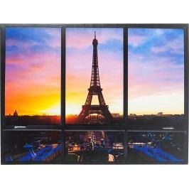 Obraz Window Eiffel Tower 95x113cm