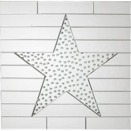 Zrcadlo Star Raindrops 80x80cm