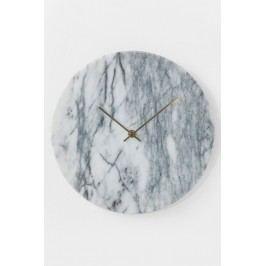 Nástěnné hodiny Desire Marble Weiß