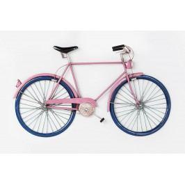 Nástěnná dekorace City Bike Pink