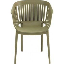 Židle s opěrkou Golden Gate Green