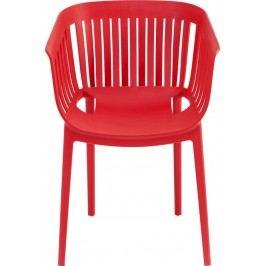 Židle s opěrkou Golden Gate Red