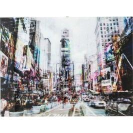 Obraz na skle Times Square Move 120x90cm
