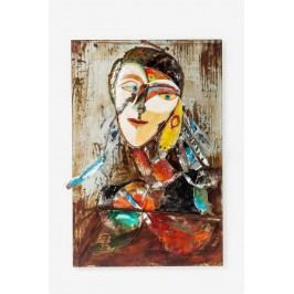 Obraz Iron Artist Face Lady 120x80cm