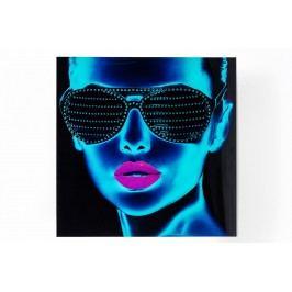 Obraz na skle Tough Girl 120x120 cm