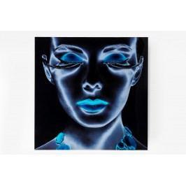 Obraz na skle Diva 120x120 cm