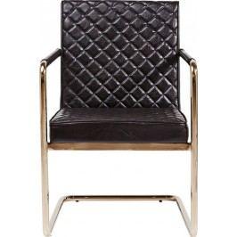 Konzolová židle s opěrkou Beverly Hills