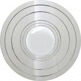 Mirror Steel Step Silver Round O80cm