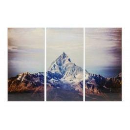 Obraz na skle Triptychon Himalaya 160x240 cm