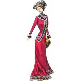 Nástěnná dekorace Lady Red