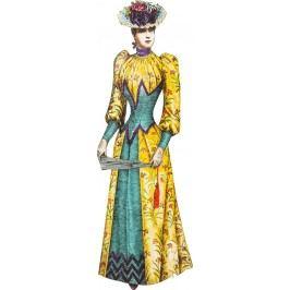 Nástěnná dekorace Lady Yellow