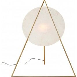 Stojací lampa Triangle Marble White