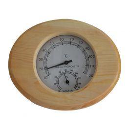 Marimex | Dřevěný teploměr/vlhkoměr do sauny | 11103001