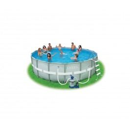 Bazén Florida Grey 4,88x1,22 m s pískovou filtrací Sand 4 10340037